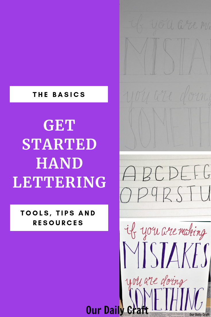 learn hand lettering how to get started hand lettering