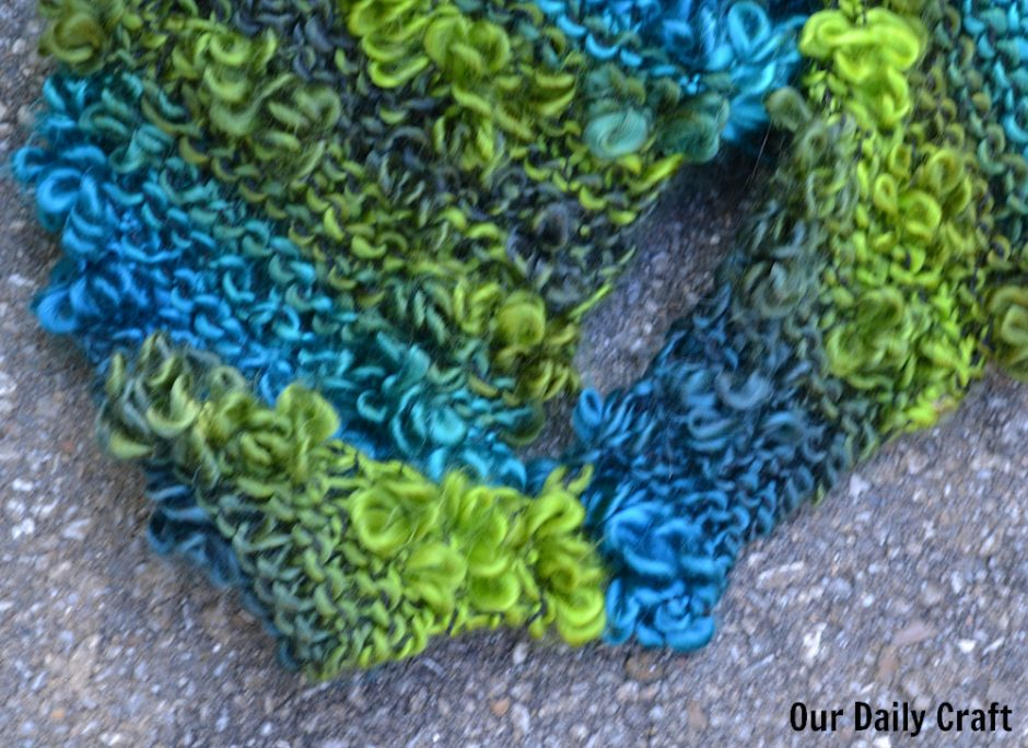 sewn ends bandana cowl