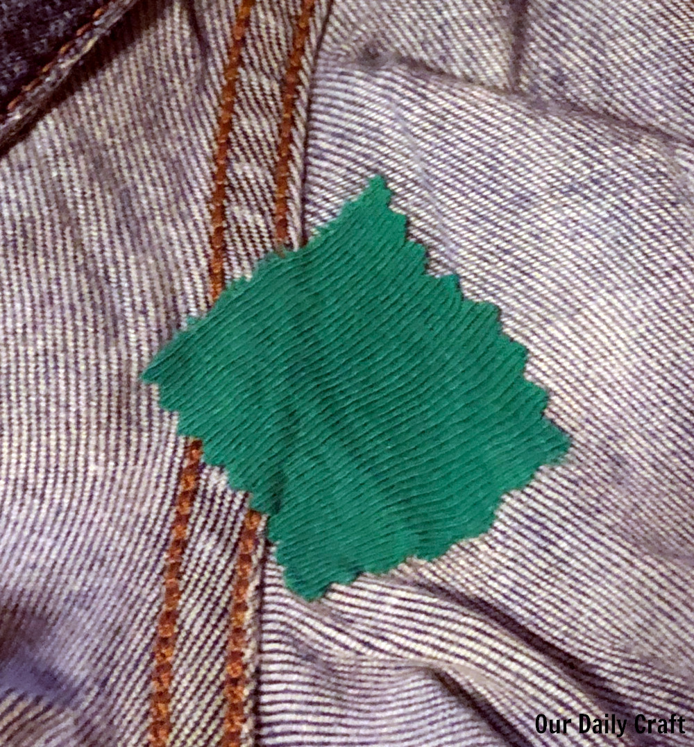 An Easy Way to Mend a Small Hole in Clothing