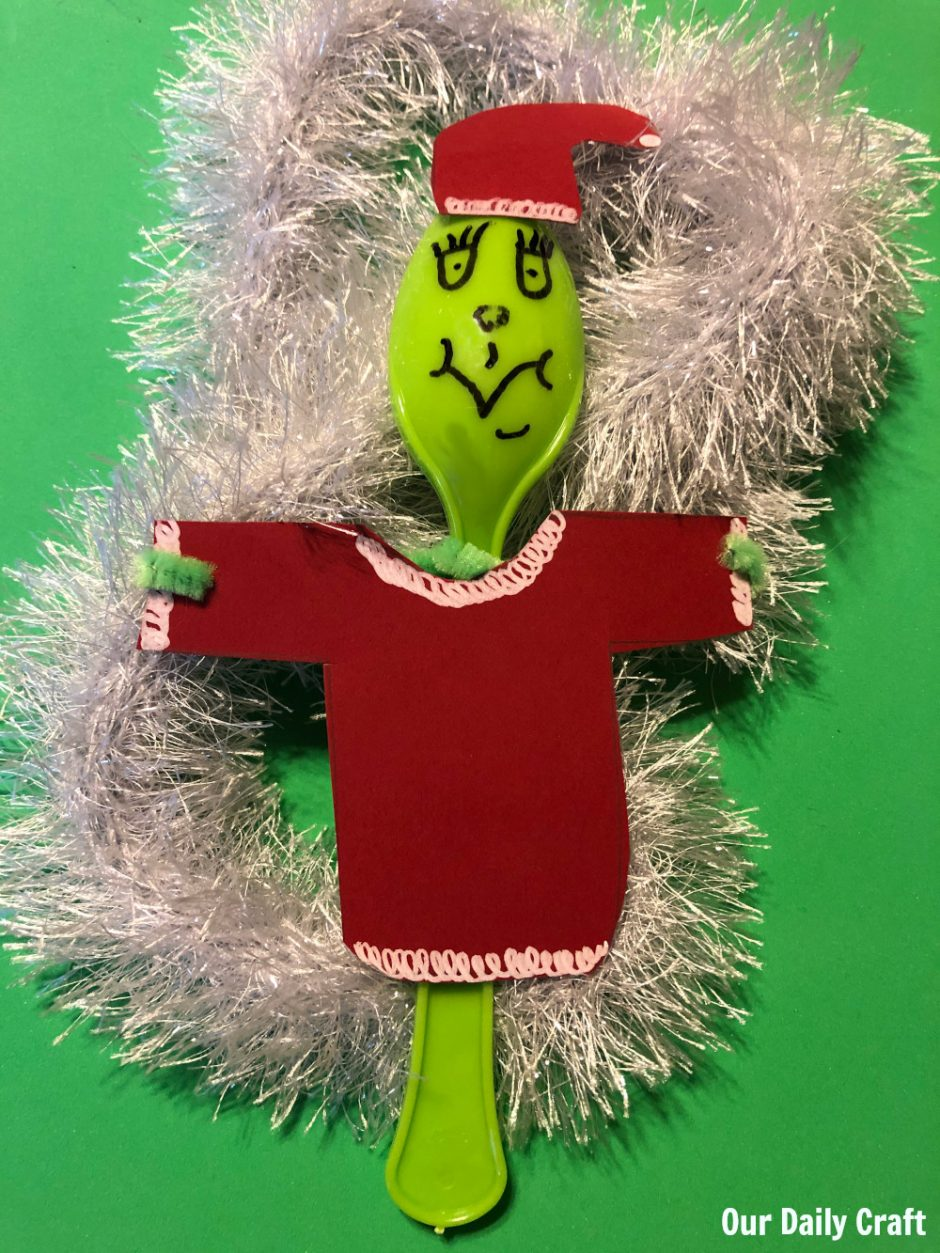easy grinch craft for kids