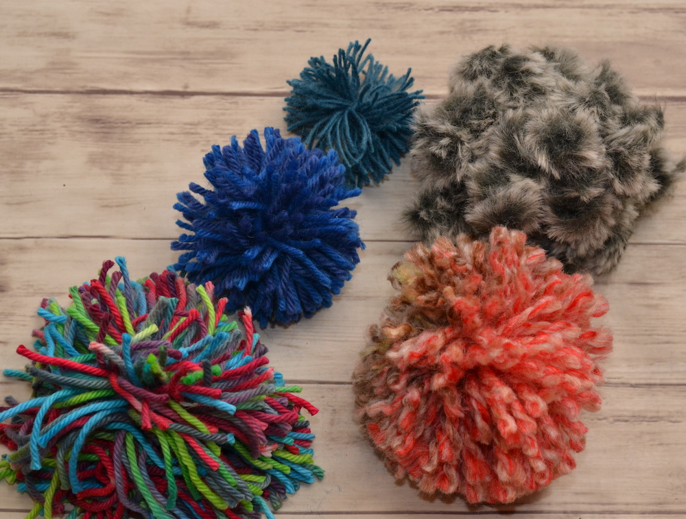 How to Make Pom Poms 5 Ways and How to Use Them